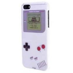 Coque iphone 5 Game Boy Blanche