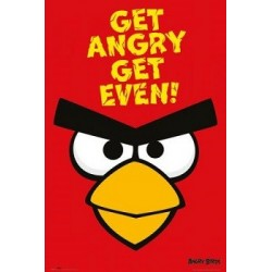 Poster Angry birds Get Angry