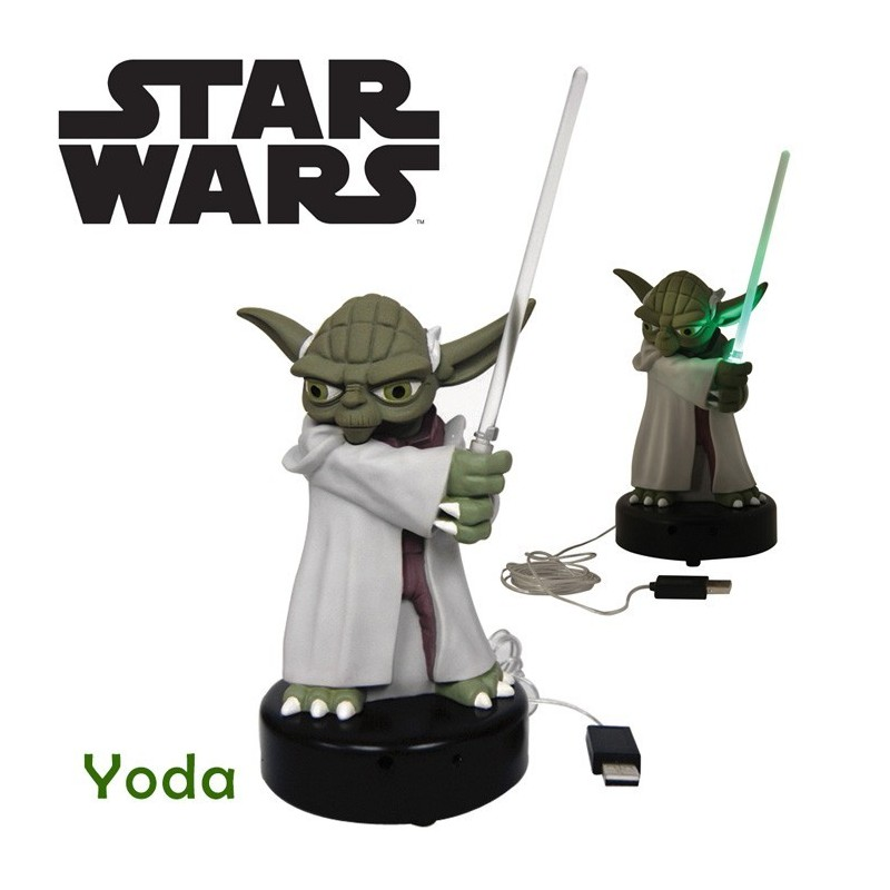achat figurine yoda usb star wars idee cadeau. Black Bedroom Furniture Sets. Home Design Ideas