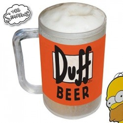 Chope refrigeree Simpsons Duff