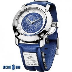 Montre Docteur Who Tardis Collector