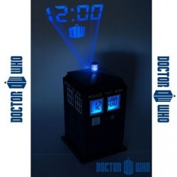 Reveil Tardis Dr Who projection