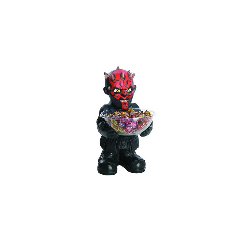 Star wars porte bonbons darth maul 40 cm vendu geek for Decoration porte star wars