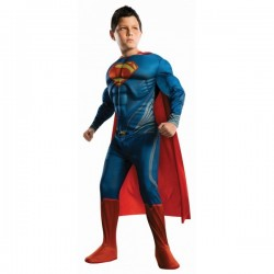 Costume de Superman Man of Steel enfants