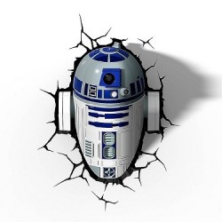 Lampe 3D Lights Star Wars R2D2