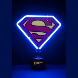 Lampe neon superman logo