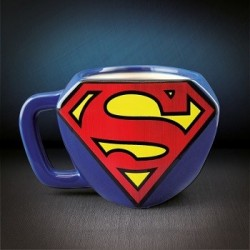 Mug superman 3D logo