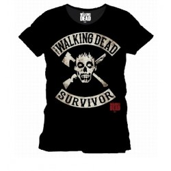 T-Shirt Walking Dead Survivor Black