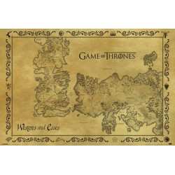 Carte antique game of thrones