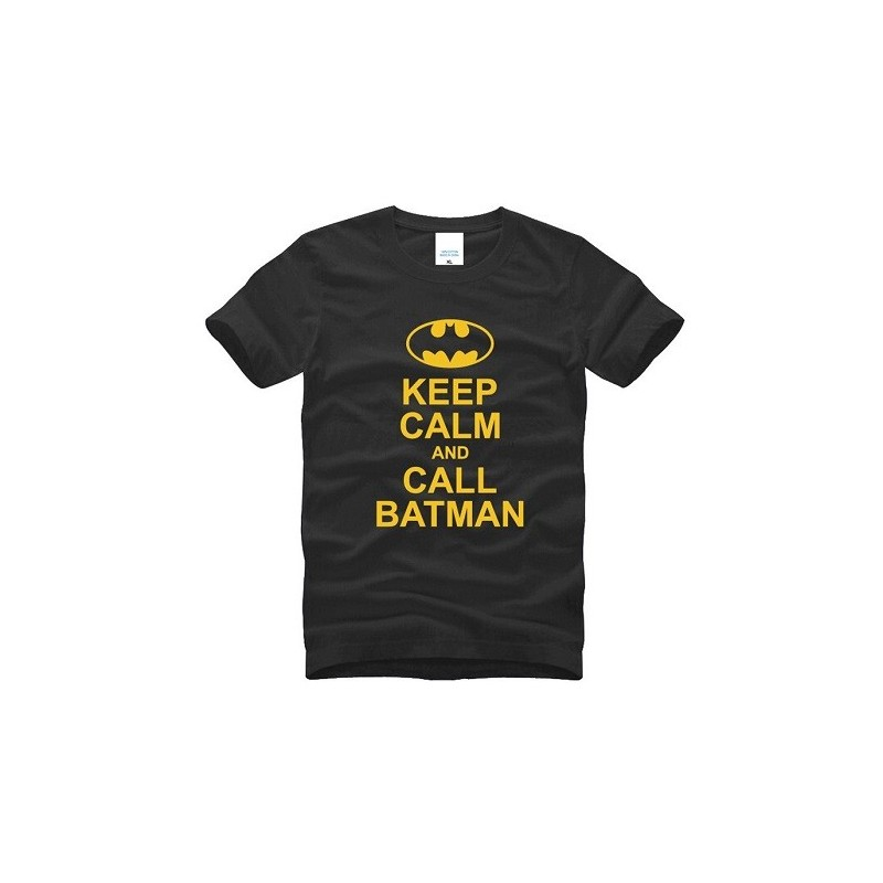 T-Shirt Batman Keep Calm and Call Batman