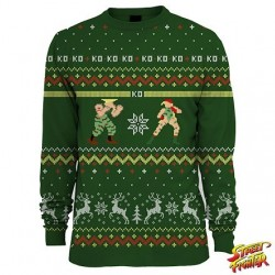 Pull Christmas Street Fighter Guile Cammy