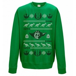 Sweat-Shirt noel Yoda
