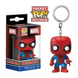 Porte-clés Captain Spiderman Avengers l'ère d'Ultron Pop vinyl