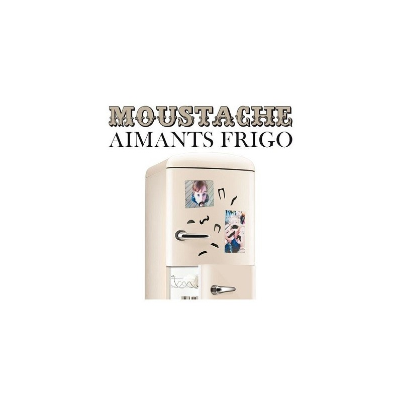 Aimants frigo Moustache