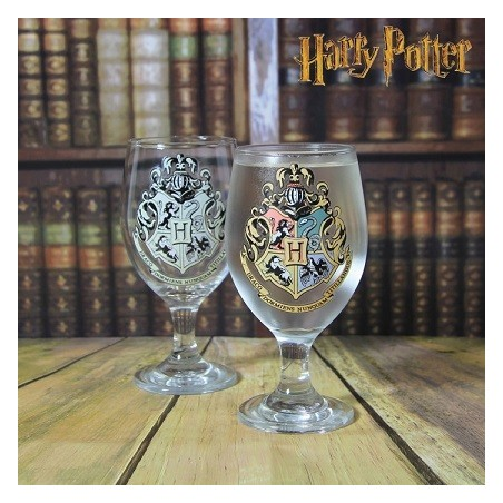 Verre thermoréactif Harry Potter Hogwarts