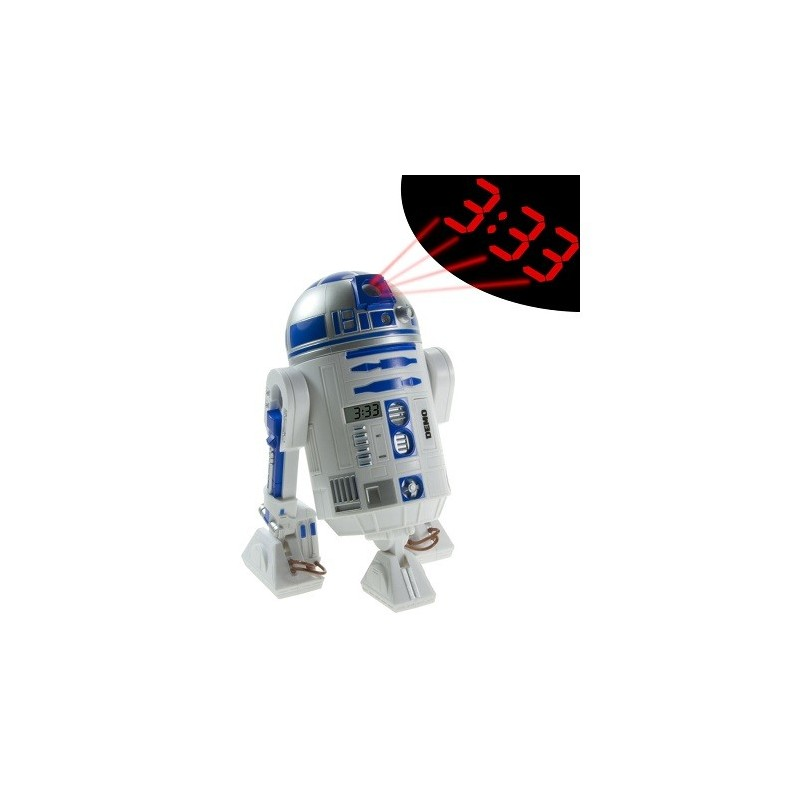 Reveil R2D2 projection Star Wars