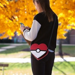 Sac pokeball coeur