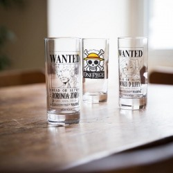 Set 3 Verres One Piece