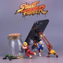 Set 5 Figurines smartphone Street Fighter
