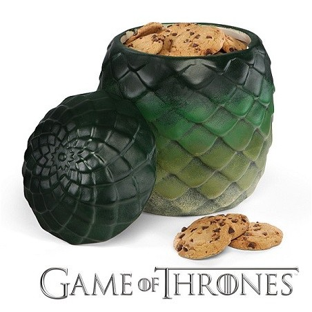 Jar à cookies oeuf de dragon Game of Thrones