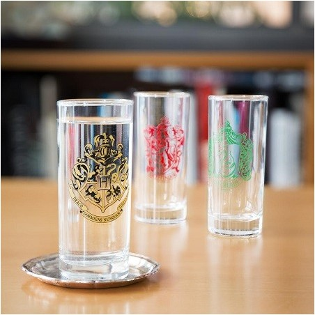Set 3 Verres Harry Potter