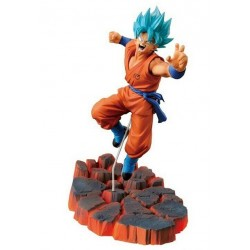 Figurine Goku Sayen Blue scultures Résurrection F