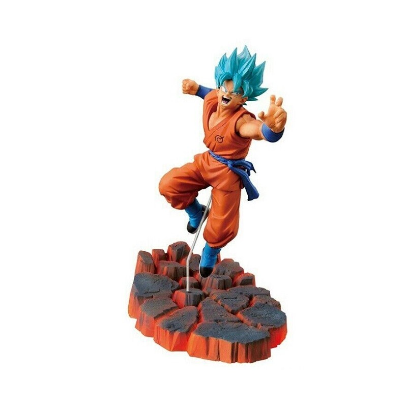 Figurine Goku Sayen Blue sculpture Résurrection F