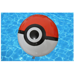 Ballon gonflable Pokeball
