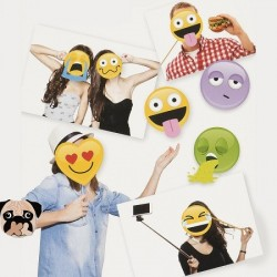 Kit emoticone selfies
