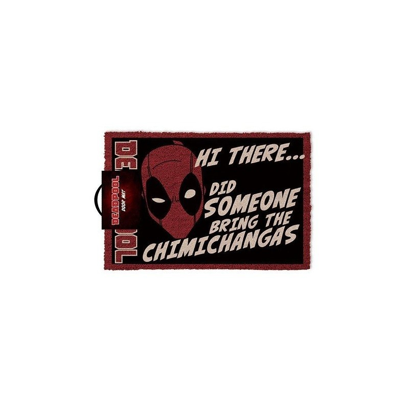 Paillasson Chimichangas Dead pool