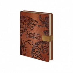 Carnet de notes Game Of Thrones Deluxe