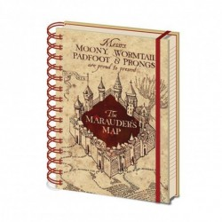 Agenda Harry Potter Carte Maraudeur