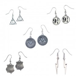 Boucles d'oreilles Harry Potter