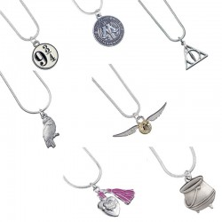 Collier Harry Potter symboles