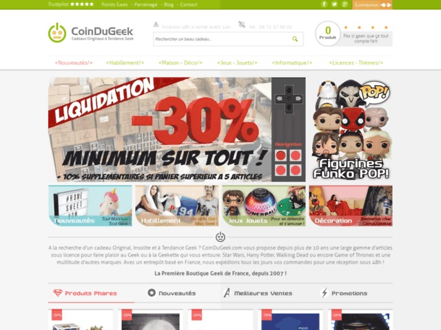 homepage coin du geek