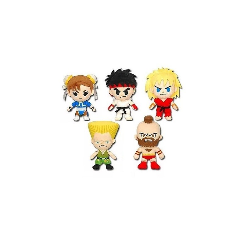 Lot 5 Peluches Street Fighter