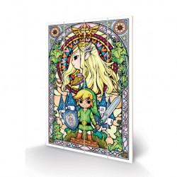 Tableau en Bois Zelda