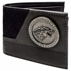 Portefeuille Game Of Thrones Stark Gris Noir