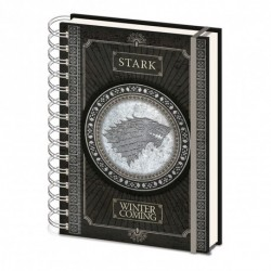 Carnet De Note Game Of Thrones Stark