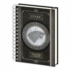 Carnet De Note Game Of Thrones Stark