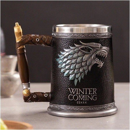 Chope à Bière Game of Thrones Stark Tankard
