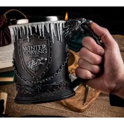 Chope à Bière Gelée Game of Thrones Stark Tankard