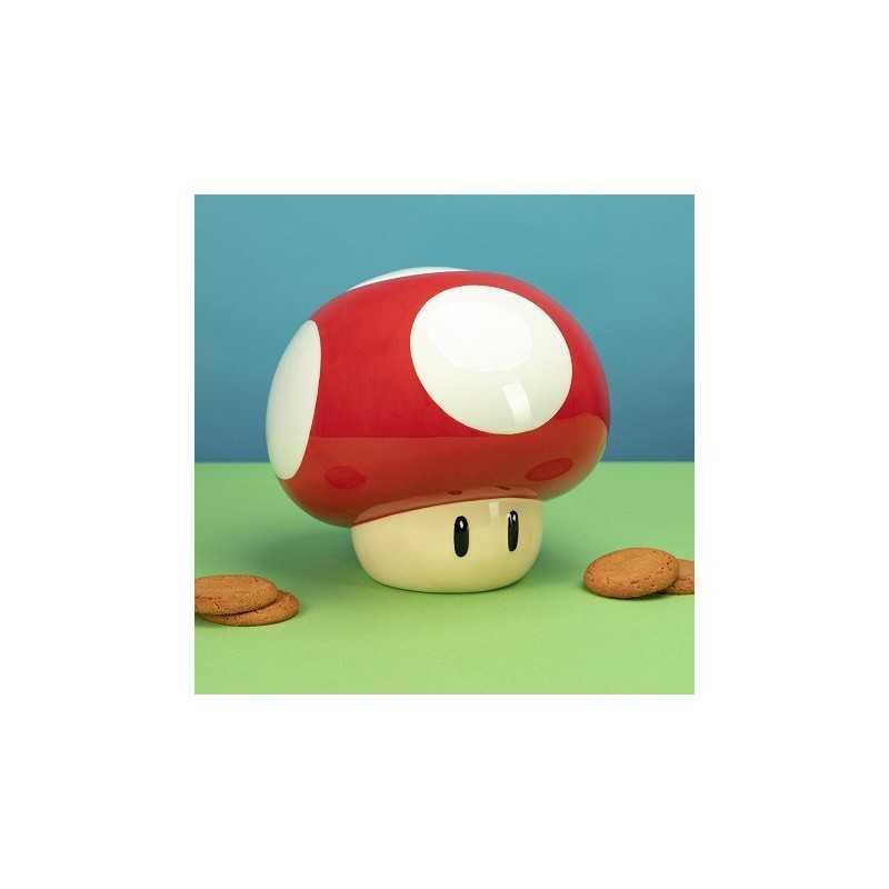 Bocal à Cookies Nintendo Champignon