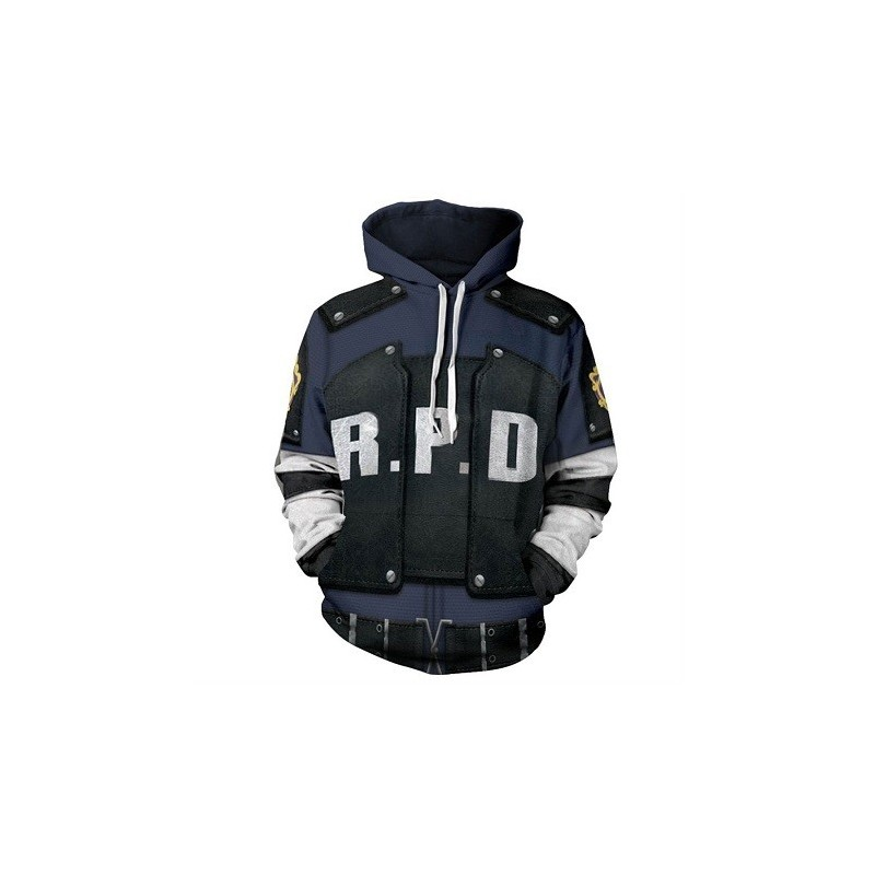 Sweat Capuche Resident Evil Raccon Police Departement RPD