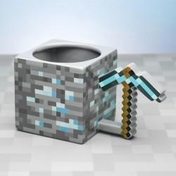 Mug 3D Minecraft Pioche