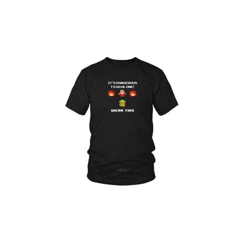 T-shirt Zelda It is Dangerous To Go Alone