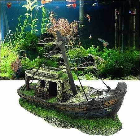 Aquarium Epave de Bateau