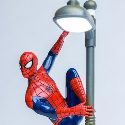 Lampe Spiderman Reverbere