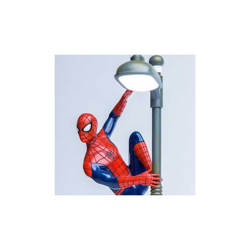 Lampe Spiderman Reverbere