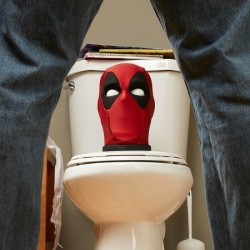 Tete Deadpool Interactive parlante